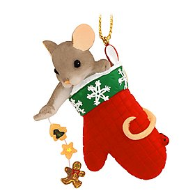 Charming Tails You Bake The Holiday Sweeter Hanging Ornament