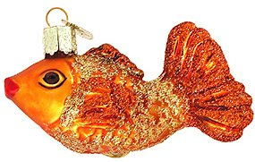 Old World Christmas Graceful Fish Ornament