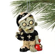 New Orleans Saints NFL Zombie Christmas Ornament