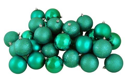 Vickerman Ball Ornament, 80mm, Seafoam Green