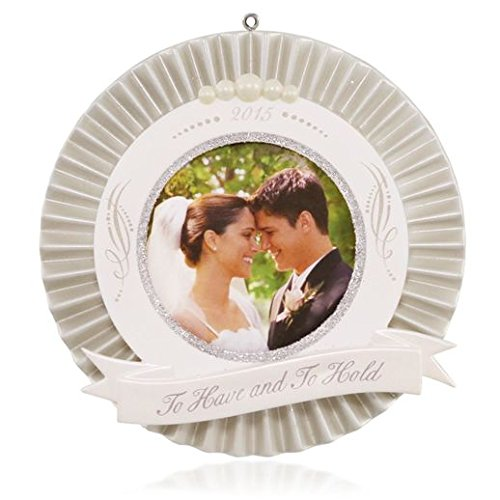 Hallmark 2015 – Our Wedding Photo Holder – Keepsake Ornament