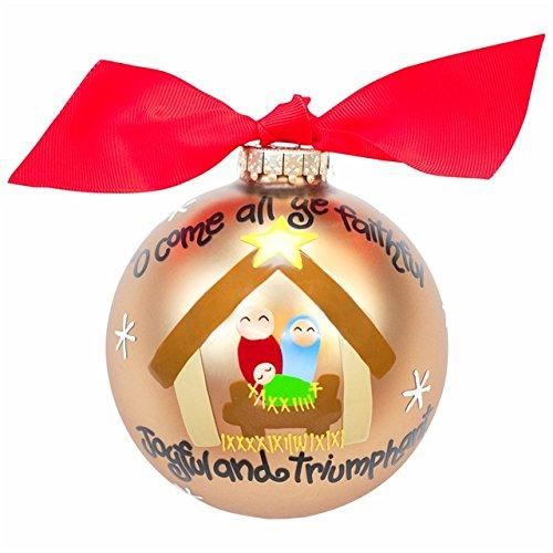O Come All Ye Faithful Ornament