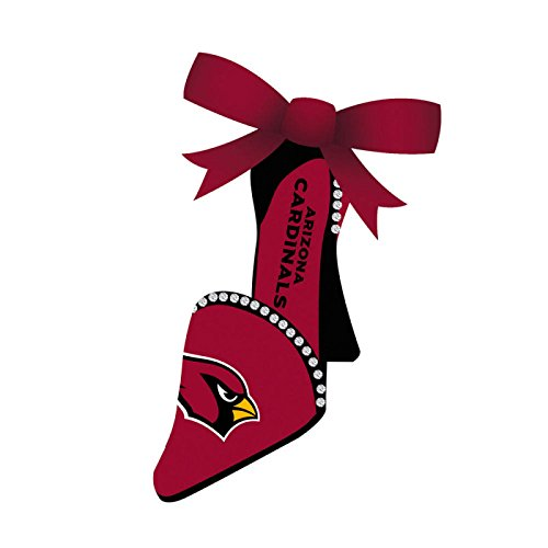 Arizona Cardinals Team High Heel Shoe Christmas Ornament