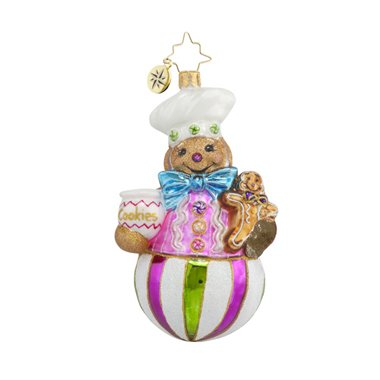 Christopher Radko Sweet Treat Baker Christmas Ornament