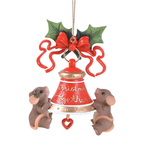 Charming Tails Ornament This Season Rings With Love