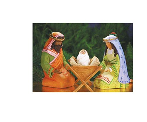 Patience Brewster World Edition Holy Family Set of 4 08-30968