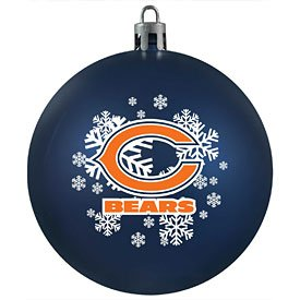 NFL Chicago Bears Shatter-Proof Plastic Ornament