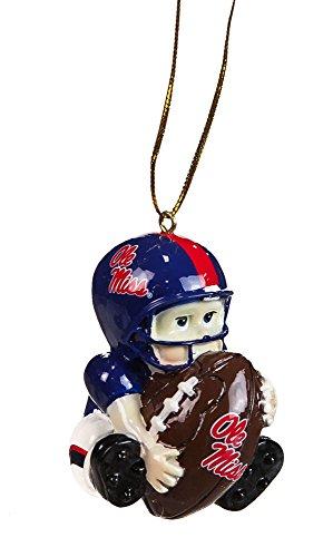 University of Mississippi Lil Fan Team Player Ornament