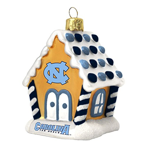 North Carolina Tar Heels Gingerbread House Ornament