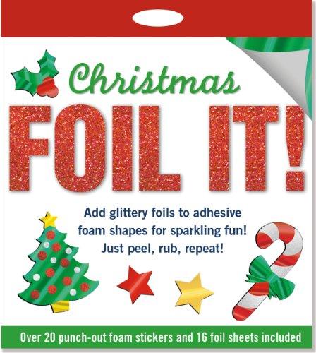 Foil It! Christmas (foam sticker activity kit, Ornaments)