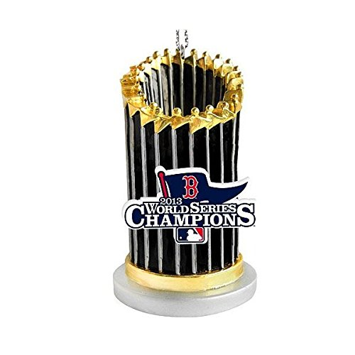 Boston Red Sox 2013 World Series Champions Trophy Ornament
