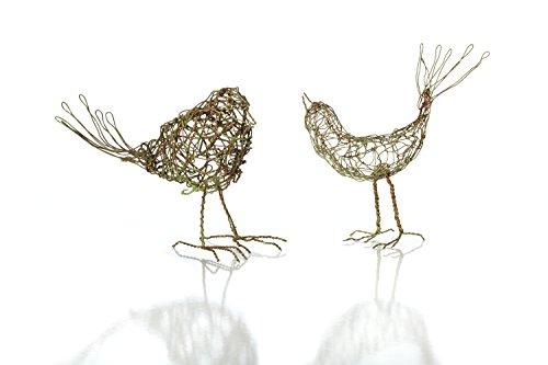 Sage & Co. EAN15925GR 6″ Wire Bird Sculpture