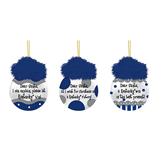 Kentucky Team Sayings Ornament Set