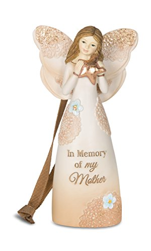 Pavilion Gift Company 19098 in Memory of My Mother Angel Ornament/Figurine, 4-1/2-Inch