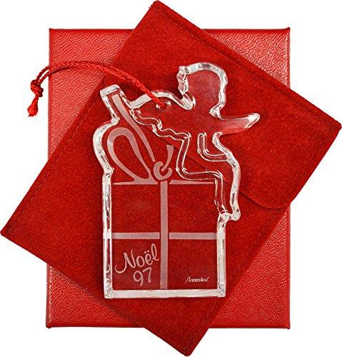 Baccarat 1997 Christmas Ornament