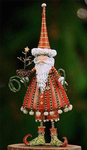 7.5″ Patience Brewster Krinkles Dashing Santa Decorative Christmas Figure Ornament