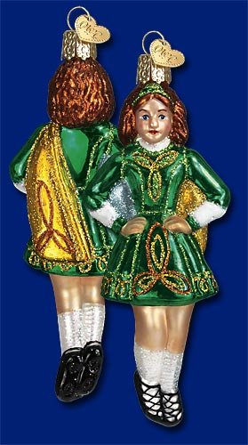 Old World Christmas Ornament – Celtic Dancer