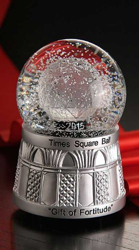 Waterford Times Square 2015 Snowglobe