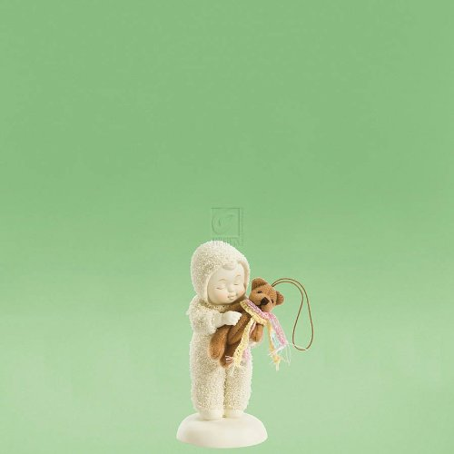 Department 56 Snowbabies Figurine Ornament Tickle Me Teddy