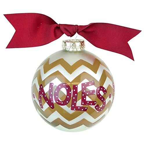 FSU Chevron Ornament