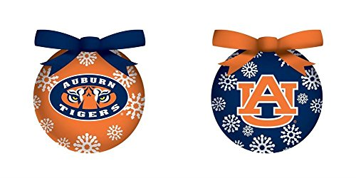 Auburn Boxed LED Ornament Set