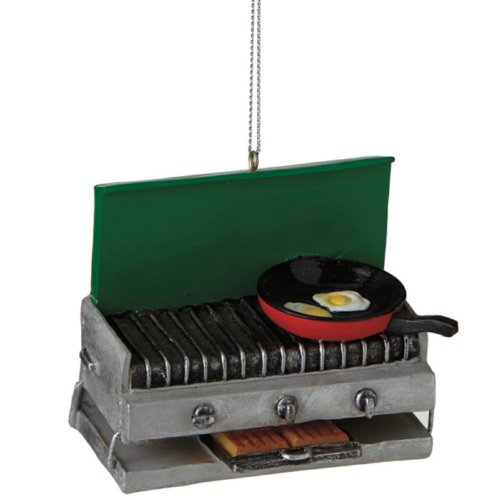 Camping Stove Ornament