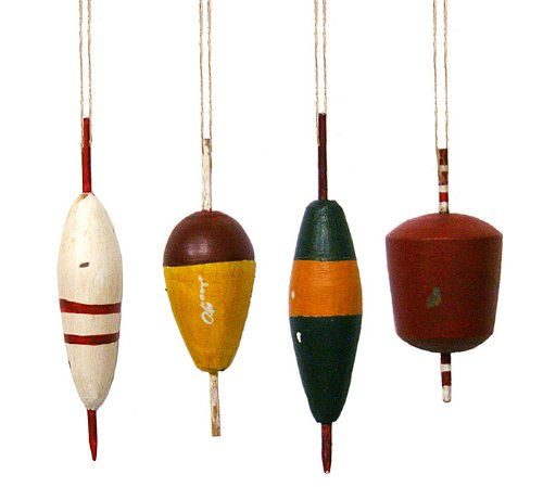 Fishing Lure Assorted Ornaments- Christmas Ornament Holiday Gift