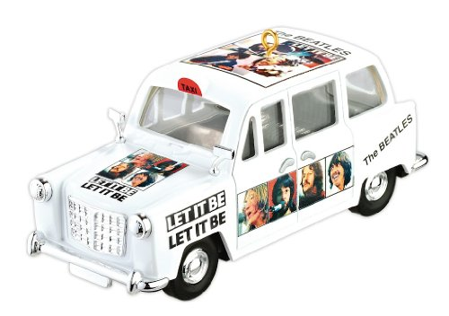 Carlton Ornament 2012 The Beatles #1 in Series – Let it Be Taxi – #CXOR042B