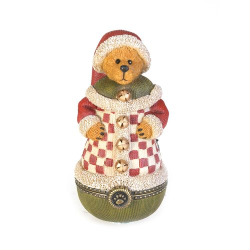 Boyd's Bears by Enesco Collectible St Nichol Kringle-Klause Trinket box