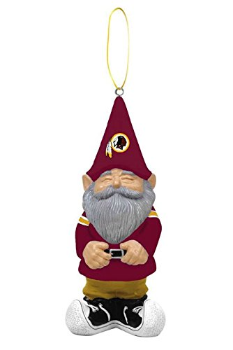 Washington Redskins Gnome Ornament