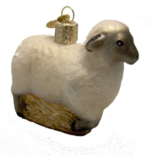 Old World Christmas Sheep Ornament