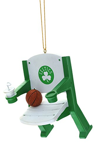 Boston Celtics Official NBA 4 inch x 3 inch Stadium Seat Ornament