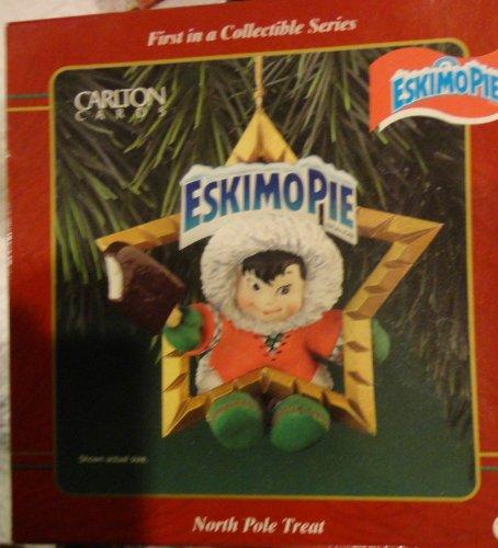 North Pole Treat Eskimo Pie Christmas Ornament By Carlton Heirloom Collection
