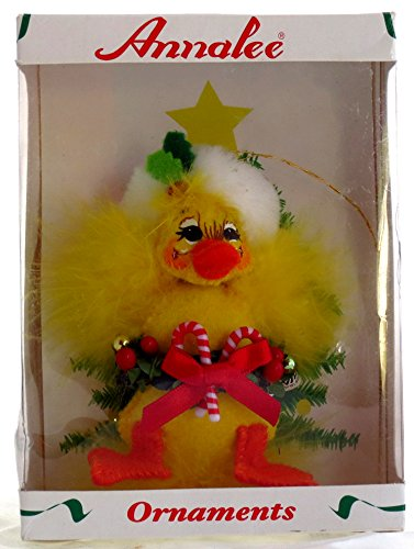 Annalee 3 Inch Yuletide Ducky Christmas Ornament