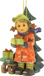 M I Goebel Hummel Happy Holidays Christmas Ornament – Good Tidings