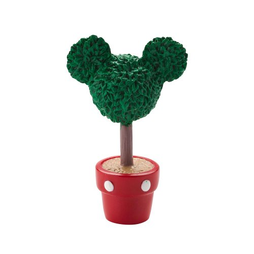 Department 56 Disney Village Mickey Topiary General Accessory, 2.375-Inch