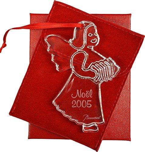 Baccarat 2005 Christmas Ornament