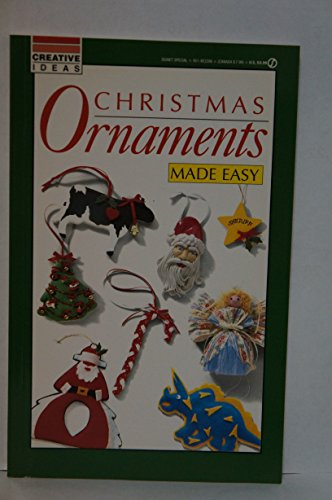 Christmas Ornaments Made Easy: Creative Ideas