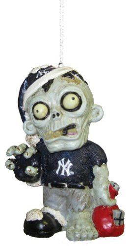 New York Yankees MLB Zombie Christmas Ornament
