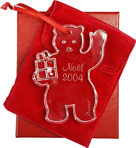 Baccarat 2004 Christmas Ornament