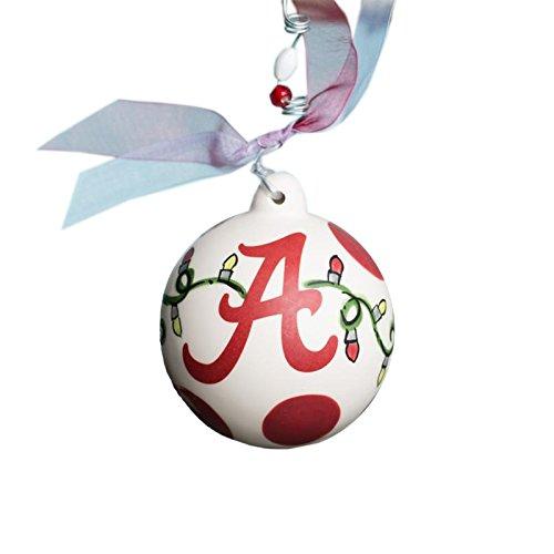Glory Haus Alabama A Ornament, 4-Inch