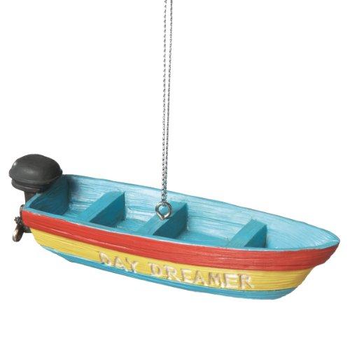 Day Dreamer Fishing Boat Ornament