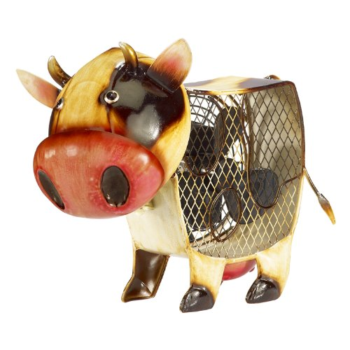 Deco Breeze DBF2013 Figurine Fan, Country Cow