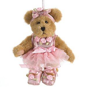 Boyds Bears Nutcracker Lil' Clara Ballerina Ornament 5″