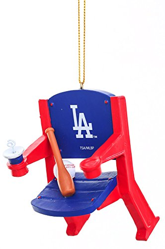Stadium Chair Ornament, Los Angeles Dodgers