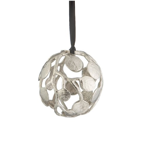 Michael Aram Botanical Leaf Globe Ornament
