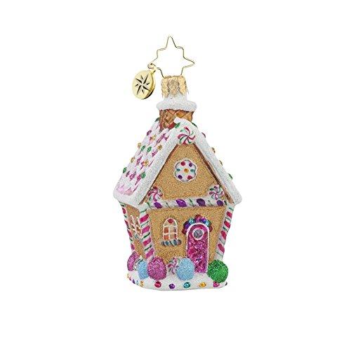 Christopher Radko Sugar Shack Little Gem Christmas Ornament