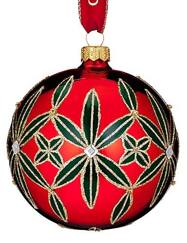 Waterford HH Lismore Ball Ornament