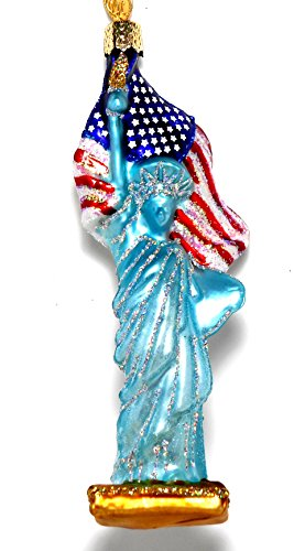Old World Christmas Statue of Liberty Ornament