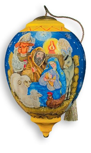 Ne'Qwa Art Manger Ornament By Artist G DeBrekht 877